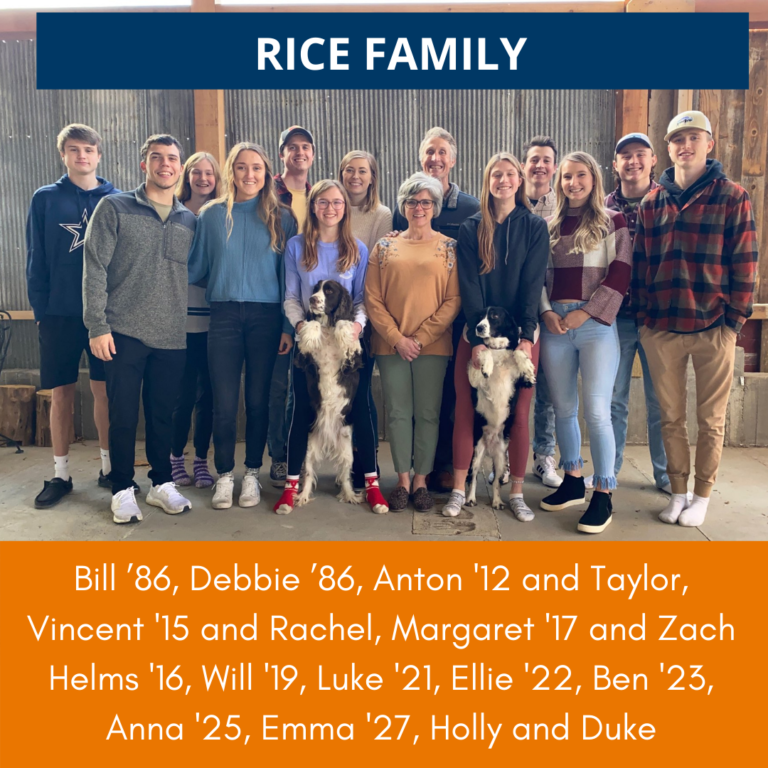 The Rice Family