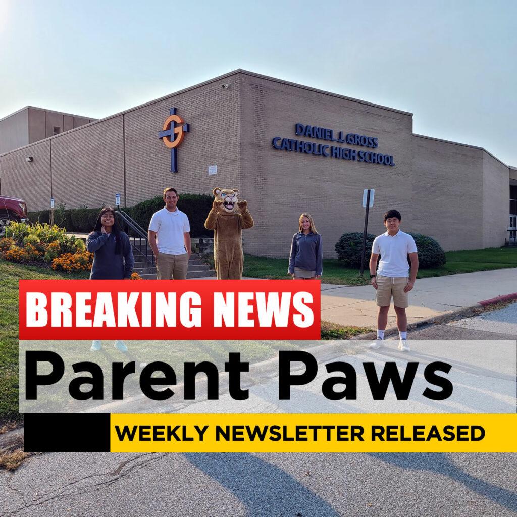 Parent Paws Newsletter