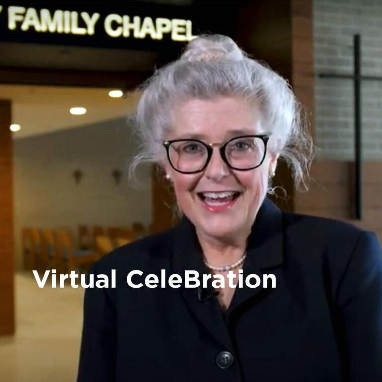 Dr. Ostrowski at Virtual CeleBration