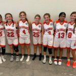 Junior Cougar girls basketball