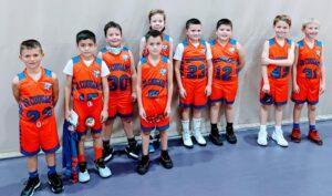 Junior Cougar boys basketball