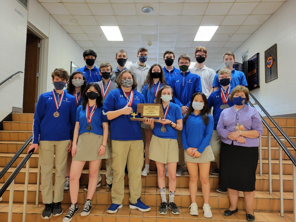 State Champion Academic Decathlon Team 2021