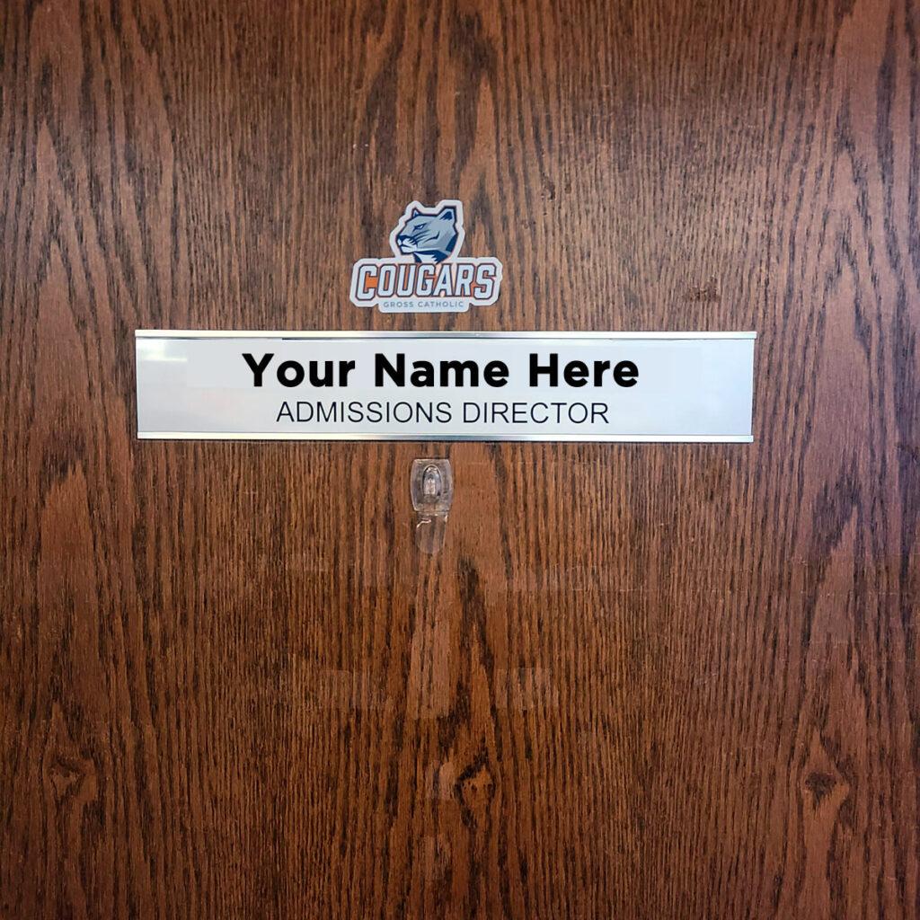 Admissions Director Door