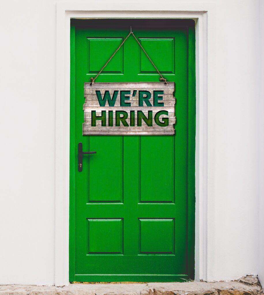 We're hiring for an executive assistant