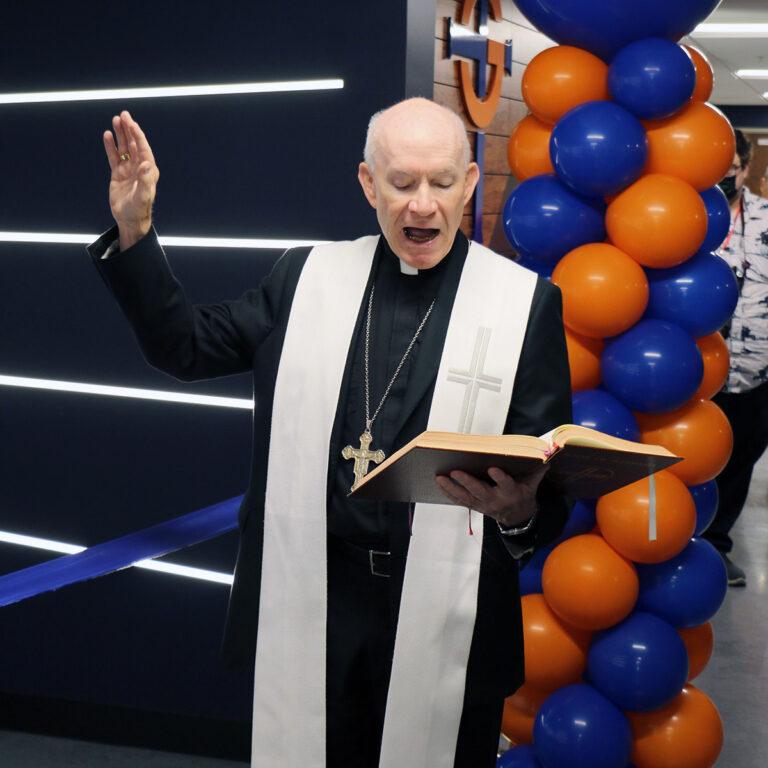 Archbishop blesses Innovation Center