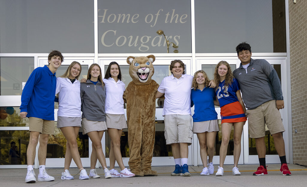 Gross Catholic Students want you to Be A Cougar!